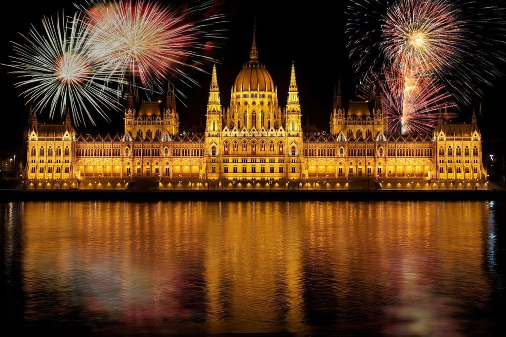 Fireworks over building - what's on in November