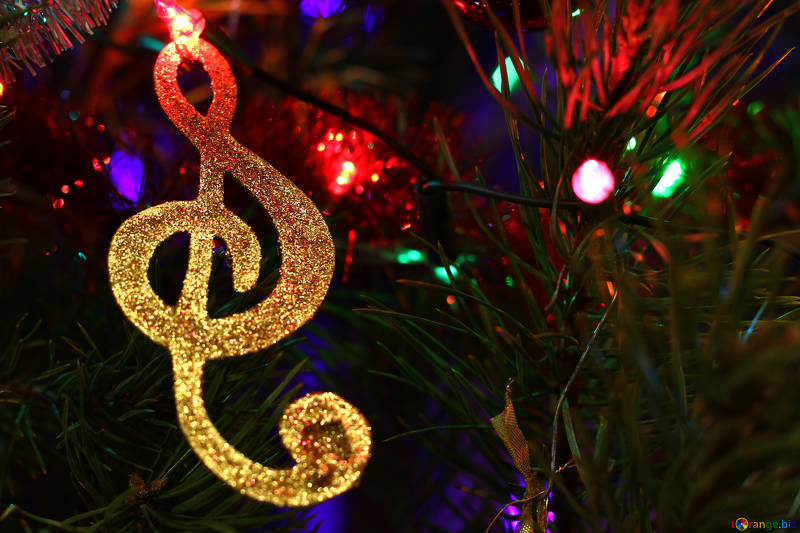 musical note on tree - what's on in December