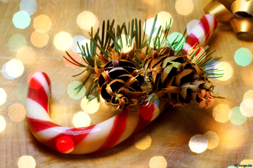 Christmas candy cane - what's on in December